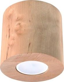 Orbis C Wood - Hout - Plafondlamp - GU10