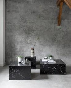 Must Living Salontafel Cube Groot 35 cm - Marmer - Must Living - Industrieel & robuust
