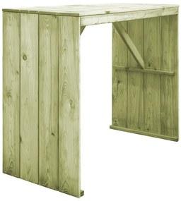 Bartafel 130x60x110 cm geïmpregneerd grenenhout