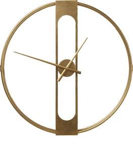 Kare Design Clip Gouden Wandklok 60 Cm