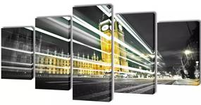 Canvasdoeken Londen Big Ben 200 x 100 cm