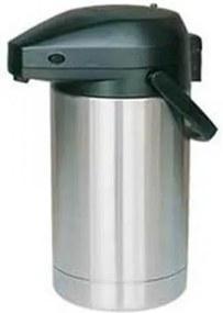 Pompkan vac 2 liter roestvrijstaal
