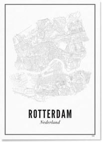 WIJCK- Rotterdam Stad print