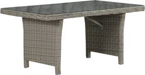 Garden Collections New Castle lounge/dining tafel 140 x 80 cm