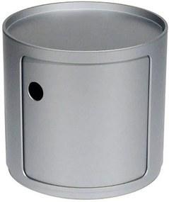 Componibili Bijzettafel Small (1 Comp.) Zilver
