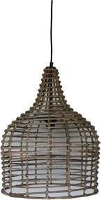 HSM Collection hanglamp - naturel - Ø43x54 cm - Leen Bakker