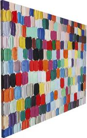 Kare Design Touched Colorful Dots Schilderij
