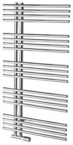 Designradiator Sapho Nympha Recht 60x112.2 cm 354W Chroom