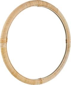 &Klevering Bamboo ronde spiegel