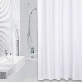 Douchegordijn Differnz Textiel Color Polyester Wit 180x200cm