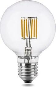 E27 LED Filament Globelamp 6W Warm Wit Dimbaar
