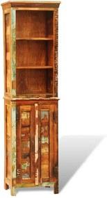 Boekenkast vintage-stijl massief gerecycled hout