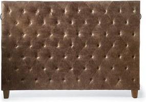 Rivièra Maison - Union Square Headboard Double, pellini, coffee - Kleur: bruin