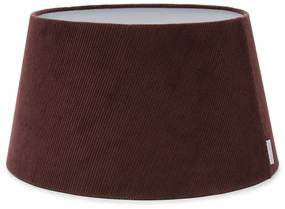 Rivièra Maison - Lovely Rib Velvet Lampshade mauve 35x45 - Kleur: paars