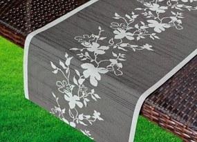Friedola Tafelloper Miami 40 x 150 cm - Antraciet/lichtgrijs