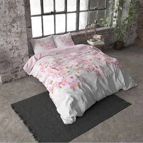 DreamHouse Bedding Sweet Flowers - Verwarmend Flanel - Roze Lits-jumeaux (240 x 200/220 cm + 2 kussenslopen)