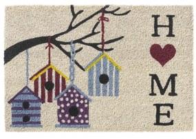 deurmat ruco prt. birdhouses home 40x60cm