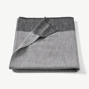 Soedahl Colour Block tafelkleed van 100% katoen, 140 x 220 cm, grijs
