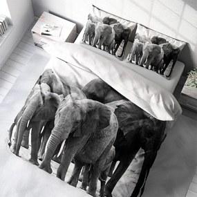 DLC Elephant Crew 1-persoons (140 x 200/220 cm + 1 kussensloop) Dekbedovertrek