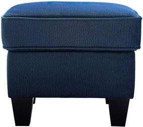Hocker Maayke - blauw - 45x50x50 cm - Leen Bakker