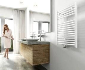 Handdoekradiator 77x60cm 463W Wit