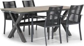 Santika Annisa/Forest 180 cm dining tuinset 5-delig