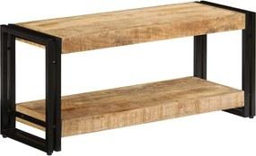 Tv-meubel 90x30x40 cm massief mangohout