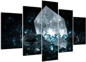 Schilderij - Kristal (150x105 cm), 40 andere afmetingen