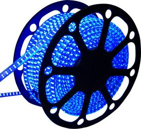LED Lichtslang 50 meter Blauw 60 LEDs per meter IP65 incl. netsnoer Plug & Play