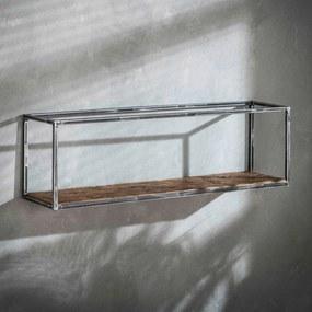 Rechthoekig Wandrek Vintagelook - 100x25x30cm.
