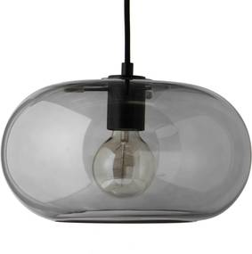 Frandsen Kobe hanglamp grijs met zwarte fitting