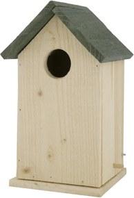 Vogelhuisje 12x12x25 Hout