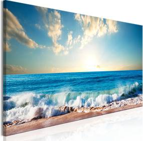 Schilderij - Het vakantiegevoel II, zee