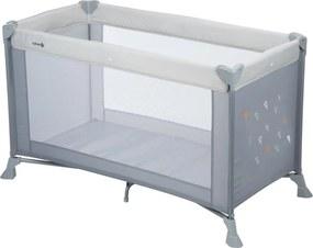 Soft Dreams Campingbedje - Warm Grey - Babybedje