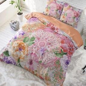 DreamHouse Bedding Fleurop Multi 1-persoons (140 x 220 cm + 1 kussensloop) Dekbedovertrek