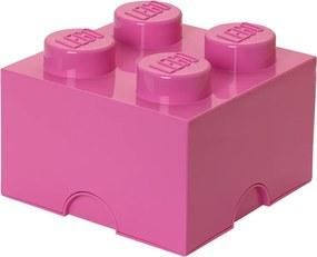 LEGO Opbergbox: Brick 4 (6 ltr) - roze