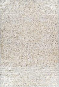Forte Collectione | Vloerkleed Finish lengte 200 cm x breedte 290 cm x hoogte 0.5 cm beige, goudkleurig vloerkleden bovenkant: | NADUVI outlet
