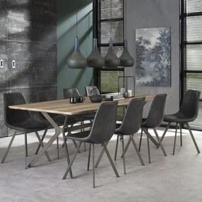 Rechthoekige Eettafel 240 Cm - 240 X 100cm.