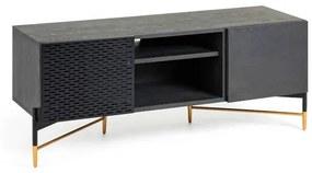 Tv-meubel Milian Zwart