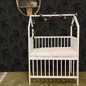 Wieg / Co-sleeper Bedside House White Wash