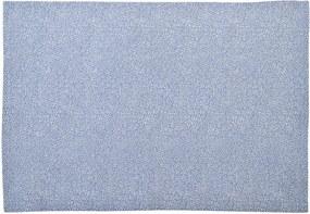 Placemat, katoen, blauw gestippeld, 35 x 50 cm