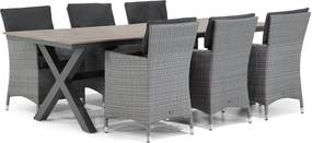Garden Collections Orlando/Forest 240 cm dining tuinset 7-delig