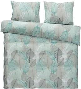 Comfort dekbedovertrek Abby - groen - 240x200/220 cm - Leen Bakker