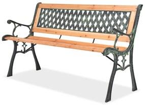 Tuinbank 122 cm hout
