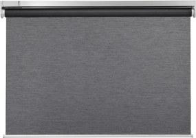 KADRILJ Rolgordijn 140x195 cm koordloos/op batterijen grijs