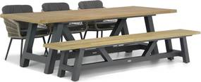Lifestyle Western/Trente 260 cm dining tuinset 5-delig