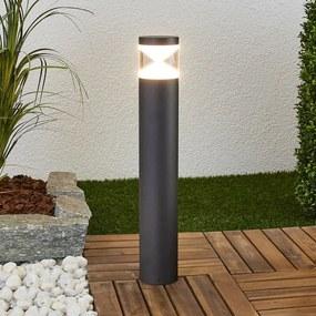 LED sokkellamp Tamiel van aluminium - lampen-24