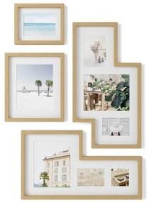 Umbra Mingle fotolijst 8x69x38cm polyester naturel 1015592-1104