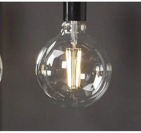 Royal plaza Merlot led lamp E27 3000k 380l bol 125 mm warm wit