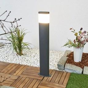 Donkergrijze LED tuinpad verlichting Marius - lampen-24